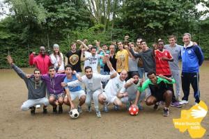 """Mannschaftsfoto der """"Super Kickers"""" für die Saison 2015"""