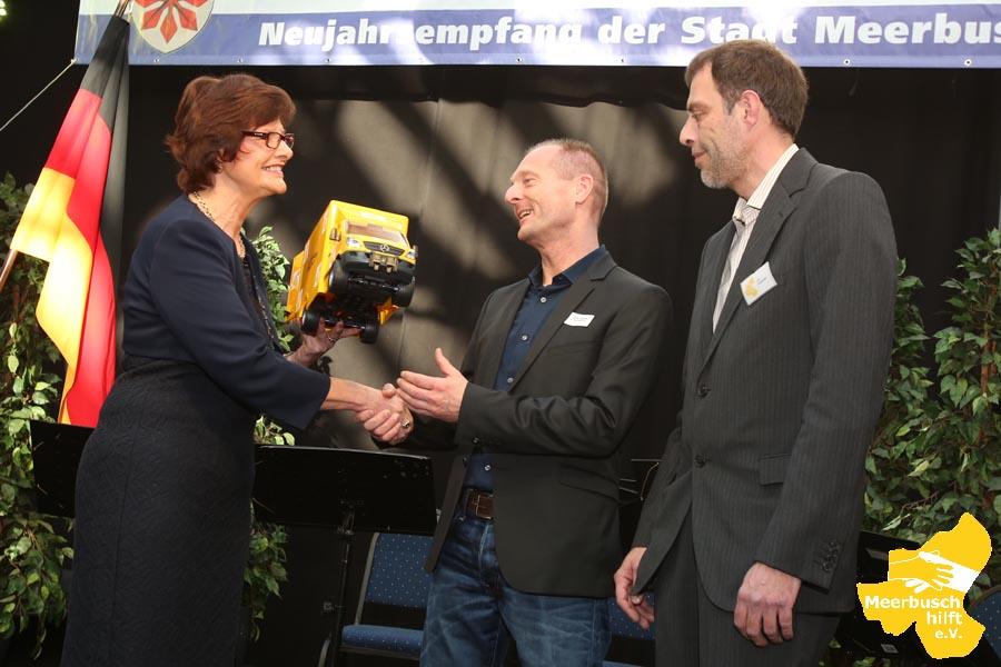 Neujahrsempfang mit Bürgermeisterin Angelika Mielke-Westerlage
